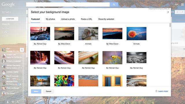 Gmail'e Yüzlerce Yeni Tema ve Emoji Eklendi