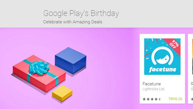 Google Play 3. Yaşını Uygulama, Oyun, Müzik ve Film İndirimleri ile Kutluyor