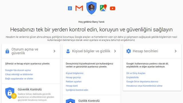 Google'ın Yeni Hesap Sayfası ile Hesap Yönetimi Çok Daha Kolay