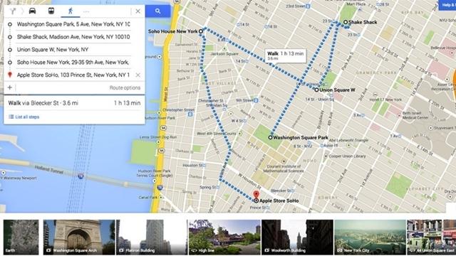 Google Maps'in Son Versiyonuna Yeni Özellikler Eklendi