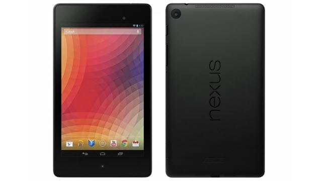 Yenilenen Google Nexus 7 Tablet'in Fotoğrafı İnternete Sızdı