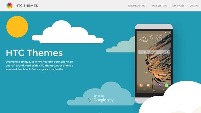 HTC, One M9 için Tema Oluşturma Sitesini Yayınladı