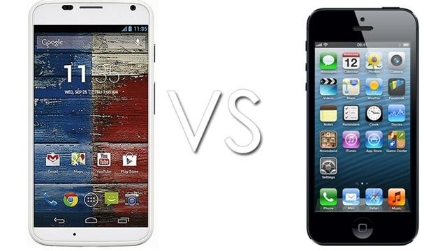 iPhone 5 ve Moto X Karşılaştırması