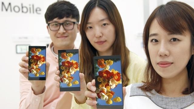 LG G4'ün 5.5 İnç'lik Ekranı Tanıtıldı