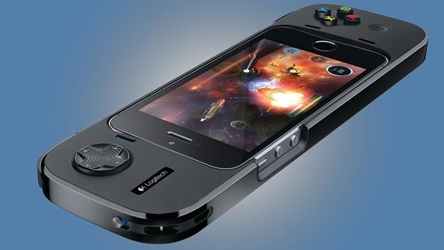 Logitech iPhone 5 ve iPhone 5S için Yeni Oyun Kontrolörünü Tanıttı