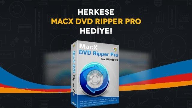 MacX DVD Ripper Pro Kampanyamıza Katılın, Ücretsiz Lisansınızı Hemen Alın!
