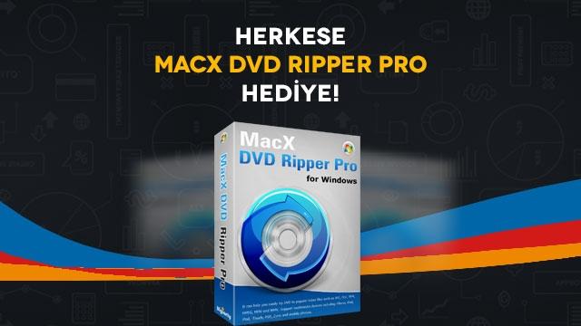 Tamindir'den Herkese Ücretsiz ''MacX DVD Ripper Pro'' Lisansı