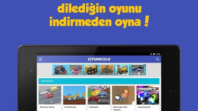Oyun Kolu Android Uygulaması ile Tüm Oyunlar Cebinizde