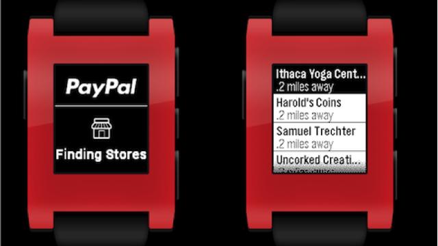 Akıllı Saat Pebble Sahipleri Paypal Uygulamasını Kullanabilir