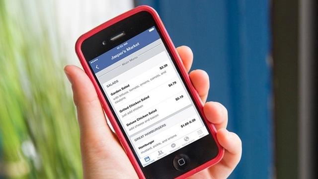 Restoranlar Facebook'ta Menülerini Yayınlayabilecekler