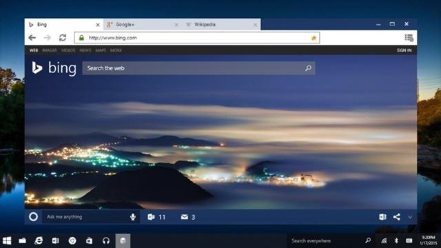 Microsoft'un Yeni Tarayıcısı Spartan Bir Sonraki Windows 10 Önizlemesi ile Geliyor