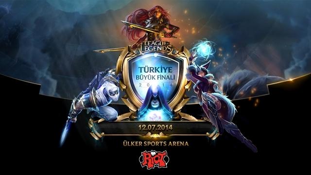 League Of Legends Türkiye Büyük Finali Başlıyor!