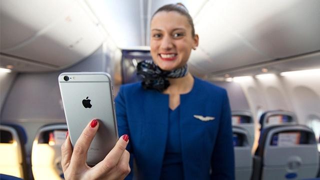 Ne Şirketler Var! United Airlines Çalışanlarına Tam 6000 iPhone 6 Plus Verecek