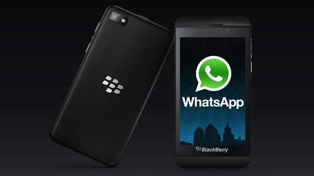 WhatsApp Sesli Arama BlackBerry 10 İçin de Çıktı