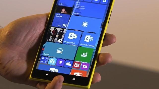 Windows 10 Önizleme Sürümü Daha Fazla Windows Phone için Gelecek