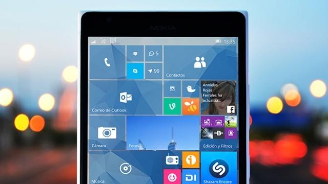 Eski Cihazlar için Windows 10 Mobil Güncellemesi 2016'da Gelecek