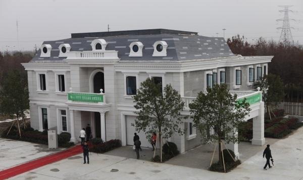 3 Boyutlu Yazıcıyla Villa Üretildi