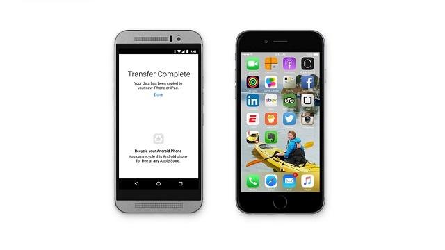 Apple, Android Cihazlardan iPhone ve iPad'e Geçişi Kolaylaştıran Bir Uygulama Yayınlayacak!