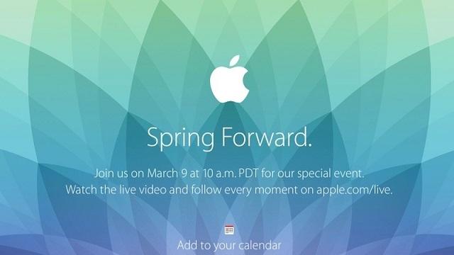 Apple'ın Akıllı Saati Apple Watch, 9 Martta Tanıtılacak!