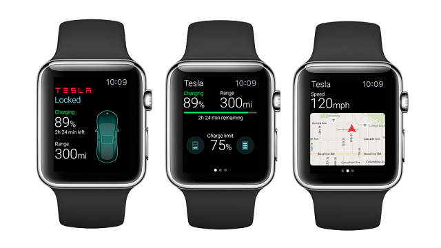 Elektrikli Otomobil Tesla, Apple'ın Akıllı Saatiyle Kontrol Edilebilecek
