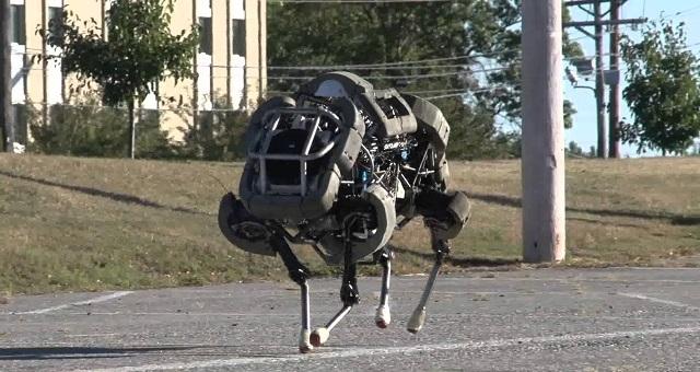 Google'ın Robot Mühendisleri, Devrilmeyen Robot Yapmayı Başardı!
