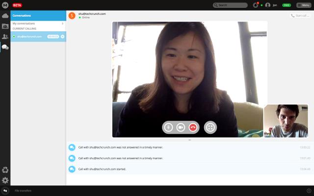 Megaupload'ın Şifreli Video ve Sesli Görüşme Servisi MegaChat Kullanıma Açıldı