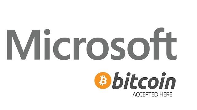 Microsoft, BitCoin Ödemelerini Kabul Etmeye Başladı