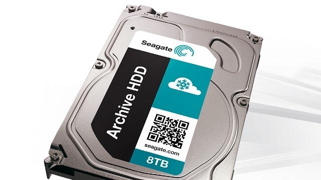 8 Terabayt Büyüklüğünde Seagate Sabit Disk geliyor