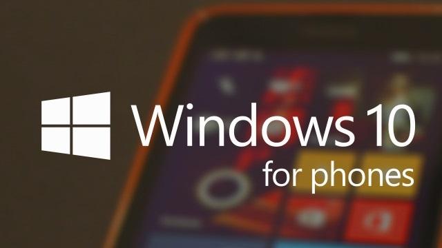 Windows 10'un Telefon Ön Sürümü 4 Şubat'ta Yayınlanıyor