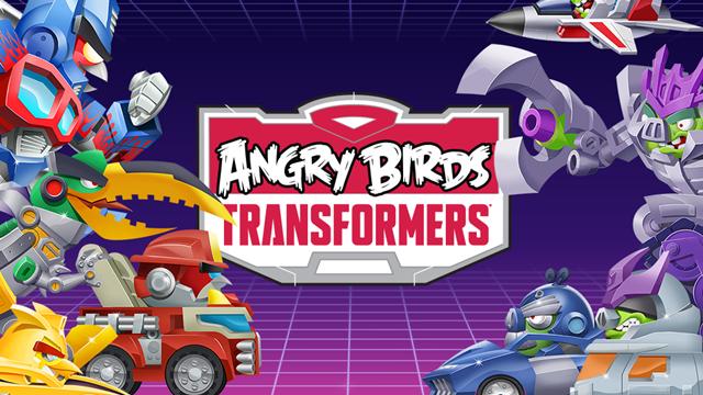 Angry Birds Transformers Android'e de Geldi