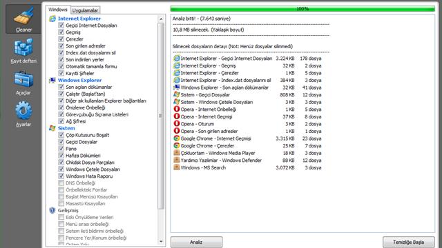 CCleaner'ın 4.18 Sürümü Daha İyi Windows 8.1 64-bit Desteği Sunuyor