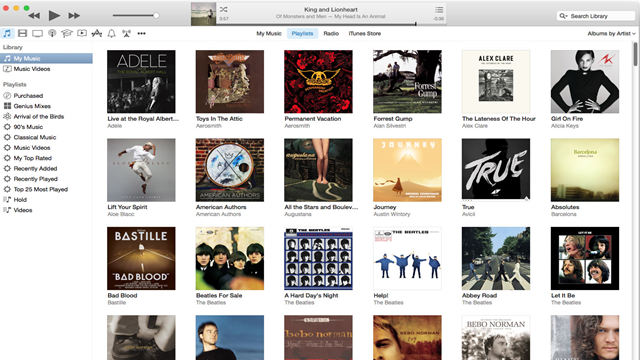 Apple, iTunes'un Yeni Sürümünde Tasarımı Değiştiriyor