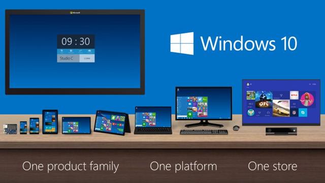 Windows 10 Tüm Platformlar için Tek Bir İşletim Sistemi Olacak