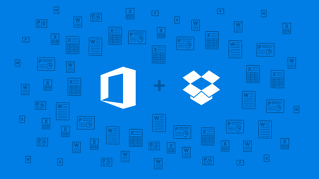 Microsoft Office Mobile, Dropbox ile Entegre Oldu