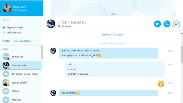 Skype'ın Masaüstü İçin Yeni Sürümü Yayınlandı