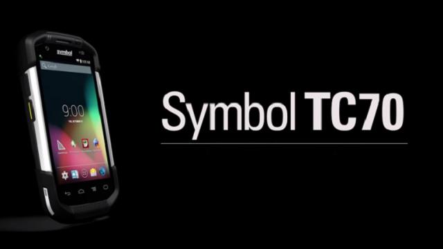 Motorola Zırhlı Telefon Modeli Symbol TC70'i Tanıttı