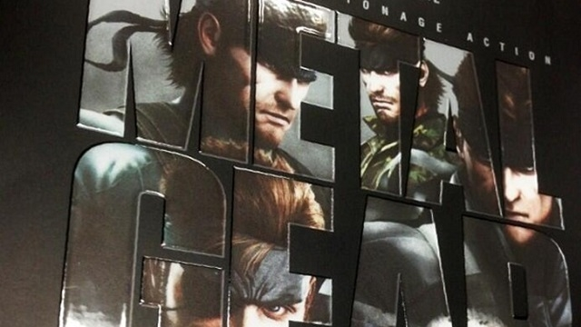 Metal Gear Solid: The Legacy Collection Geliyor