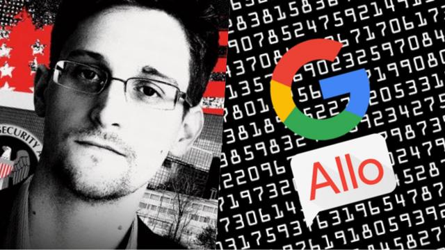 Edward Snowden Uyardı: Google Allo Kullanmayın!
