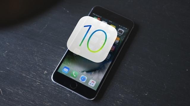 iOS 10, En Hızlı Büyüyen iOS Sürümü Oldu