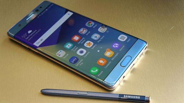 Patlayan Yeni Galaxy Note 7'ler İçin Resmi Açıklama