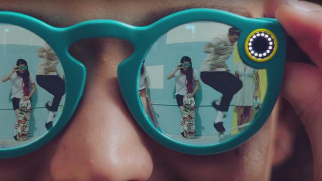 Snapchat Video Kaydı Yapan Gözlük Üretti