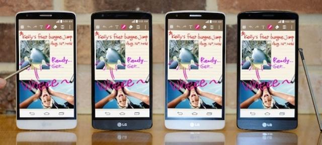 LG G3 Stylus Tanıtıldı