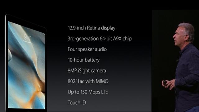 Apple, Son Cihazlarında Kullanacağı Yeni A9X İşlemciyi Tanıttı