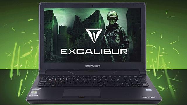 Casper Excalibur'a GTX 1060 Ekran Kartı Dopingi
