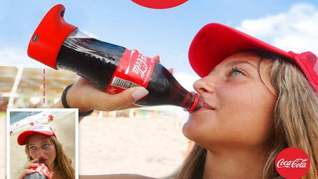 Coca-Cola'nın Selfie Şişesi Her Yudumda Fotoğrafınızı Çekecek