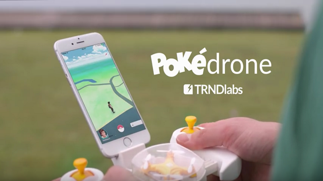 Daha Kolay Pokemon Yakalayabilmeniz İçin PokeDrone Geliyor