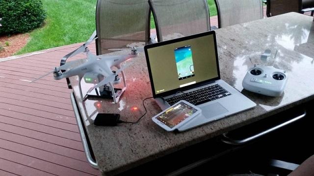 Drone ile Pokemon Yakalayabilir Misiniz? İşte İlk Deneme Sonuçları