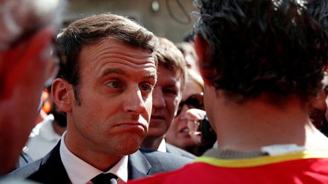 Fransa'nın Güçlü Cumhurbaşkanı Adayı Emmanuel Macron'a Hack Şoku!