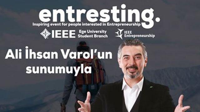 Entresting ile Girişimcilik Ekosisteminin Önemli İsimleri İzmir'de Toplanıyor