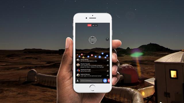 Facebook, 360 Derece Canlı Yayın Servisini Duyurdu
